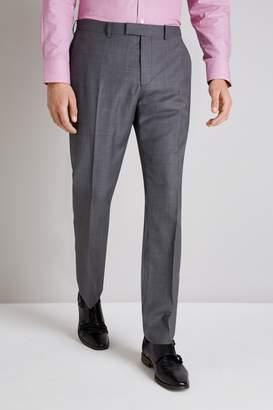 Ermenegildo Zegna Cloth Tailored Fit Grey Sharkskin Trouser