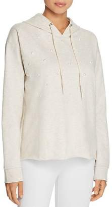 PJ Salvage Lazy Days Beaded Front Long Sleeve Hoodie