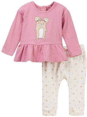 Jessica Simpson Knit Tunic & Jogger 2-Piece Set (Baby Girls)