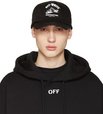 Off-White Black Construction Cap $150 thestylecure.com