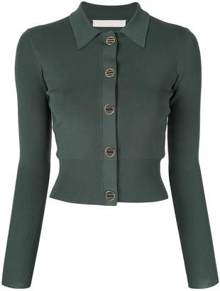 Dion Lee cropped fitted cardigan