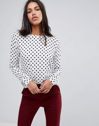 Blend She Melly Dot Print Blouse