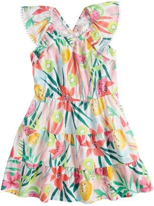 Sonoma Goods For Life Girls 4-12 SONOMA Goods for Life V-Back Ruffle Dress