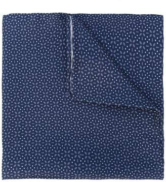 Lardini flower print pocket square