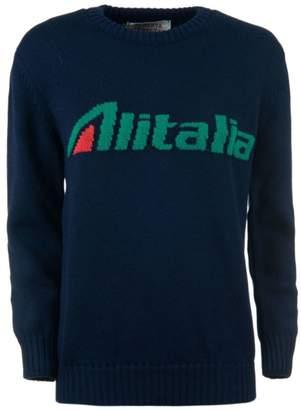 Alberta Ferretti Alitalia Knitted Sweater