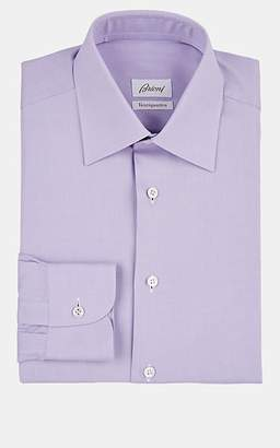 Brioni Men's Cotton Dress Shirt - Lt. Purple