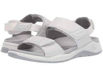 18d3364f9280 Ecco White Leather Women s Sandals - ShopStyle