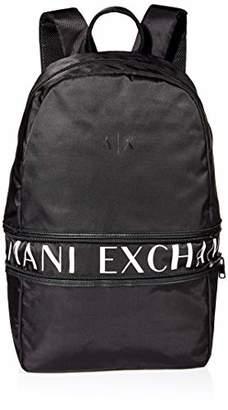 Armani Exchange A|X Men's Expandable Backpack