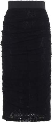 Dolce & Gabbana Dolce Gabbana Lace Skirt