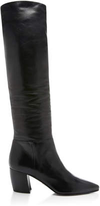 Prada Slouchy Leather Boots
