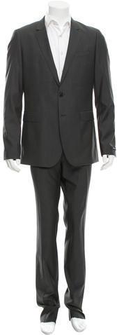 Hugo BossBoss by Hugo Boss Virgin Wool Two-Button Suit