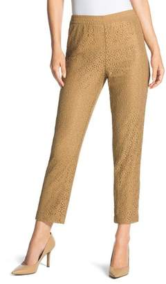 Chico's Pull-On Lace Pants