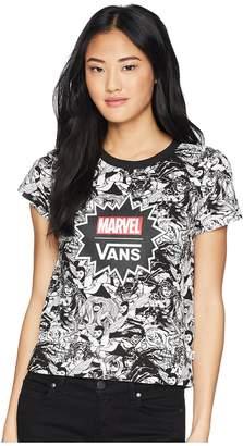 Vans Marvel Women Baby Tee Women's T Shirt