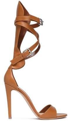 Gianvito Rossi Vitalmo Gladiator Leather Sandals