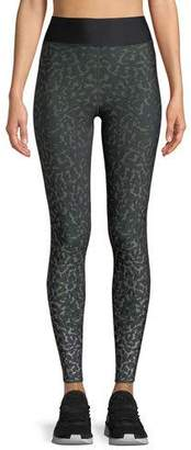 Ultracor Ultra-High Leo Camo Leggings with Side Stripes