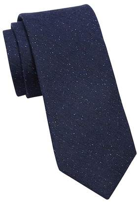 Ted Baker Donegal Solid Silk Wool Tie