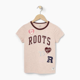 Roots Girls Patches T-shirt