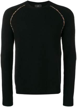 Alanui elbow patch sweater