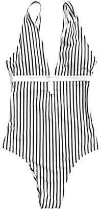 DAY Birger et Mikkelsen Cupshe Fashion A Sunny Stripe One-piece Swimsuit