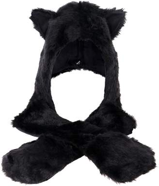 Simplicity ultifunction Animal Hats as Earmuffs, Scarf, Gloves
