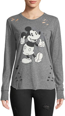 Recycled Karma Mickey Mouse Long-Sleeve Tee