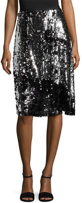 Manoush Sequin Trash Skirt
