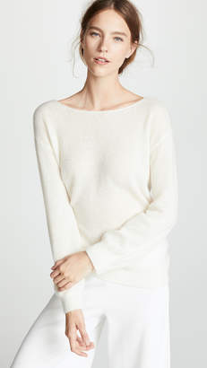 ADAM by Adam Lippes Boat Neck Cashmere Sweater