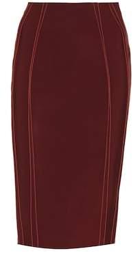 Thierry Mugler Jersey pencil skirt