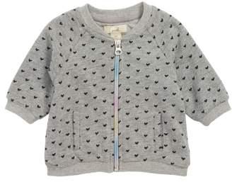 Peek Essentials Peek Heart Bomber Sweatshirt Jacket