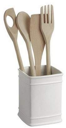 La Porcellana Bianca Preparazione Square Utensils Holder