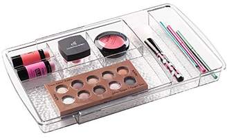 mDesign Expandable Makeup Organizer for Bathroom Drawers