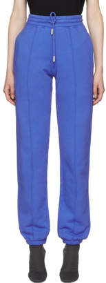 Off-White Blue Blurred Off Lounge Pants