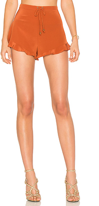 STONE COLD FOX Marina Bloomers in Orange $175 thestylecure.com