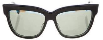 Christian Dior Graphic Square Sunglasses
