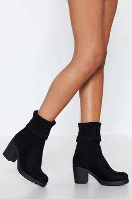 Nasty Gal Cuff in the Morning Boot