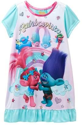 AME Trolls Poppy & Branch Nightgown (Little Girls & Big Girls)