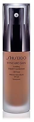 Shiseido Women's Synchro Skin Lasting Liquid Foundation Broad Spectrum SPF 20
