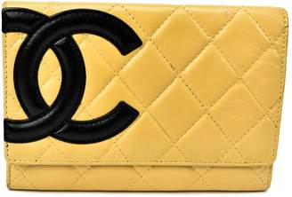 Chanel Cambon leather wallet