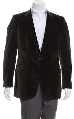 Paul Smith Notch-Lapel Velvet Blazer
