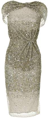 Rachel Gilbert sequins midi dress