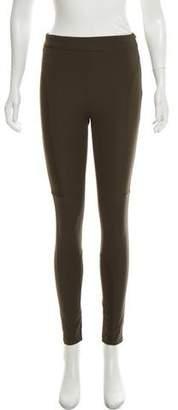 Burberry Mid-Rise Skinny Leggings