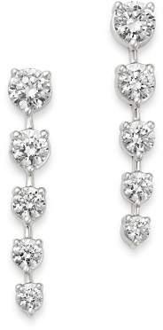 Bloomingdale's Diamond Graduated Drop Earrings in 14K White Gold, 3.0 ct. t.w. - 100% Exclusive