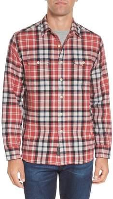 Grayers Brampton Textured Plaid Flannel Shirt