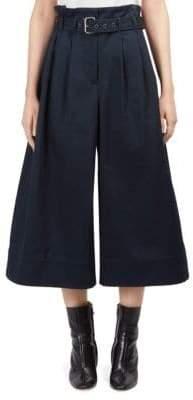 Maison Margiela Cotton Belted Culottes