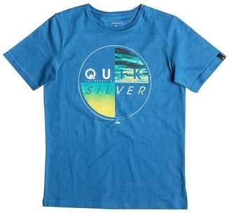 Quiksilver Short-Sleeved Crew Neck T-Shirt