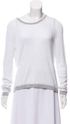 Rag & Bone Tulip Back Open Knit Sweater