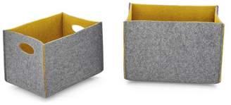 Calligaris Dorian 2-Piece Storage Box Set