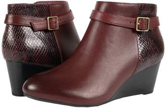 Vionic Elevated Shasta Wedge Boot Women's Wedge Shoes