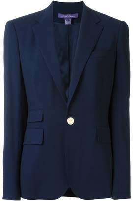 Ralph Lauren one button blazer