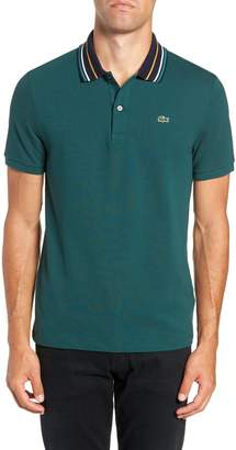 Lacoste Slim Fit Fancy Pique Polo
